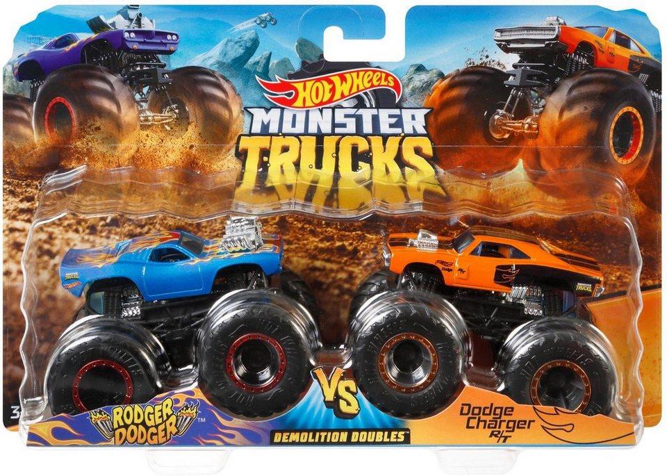 Hot Wheels Spielzeug-Monstertruck »Die-Cast Muscle Car vs ...