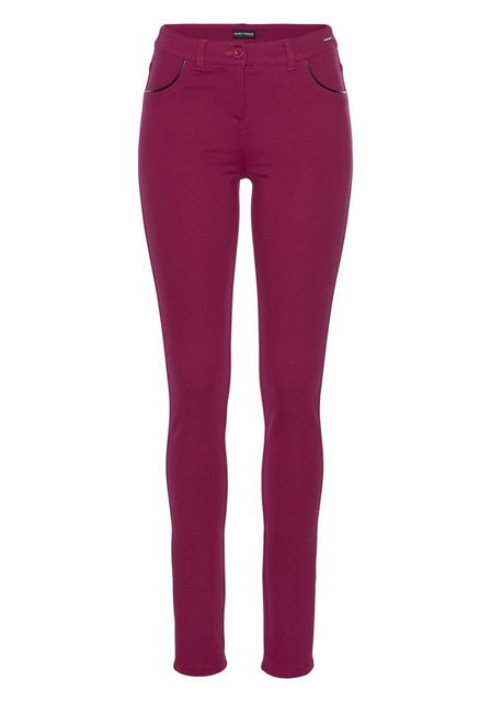 Hosen - Bruno Banani Treggings Slim Fit Hose Power Stretch › rot  - Onlineshop OTTO