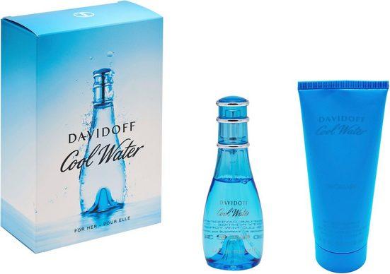 DAVIDOFF Duft-Set »Cool Water Woman«, 2-tlg.