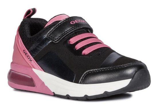 Geox Kids »Spaceclub Girl« Sneaker mit Blinkfunktion zum An- und Ausschalten