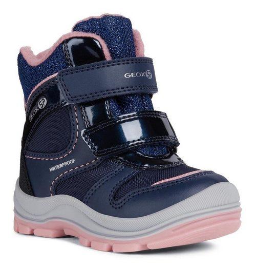 Geox Kids »Trivor Girl« Lauflernschuh mit weichem Softfußbett und patentierter Geox Spezial Membrane