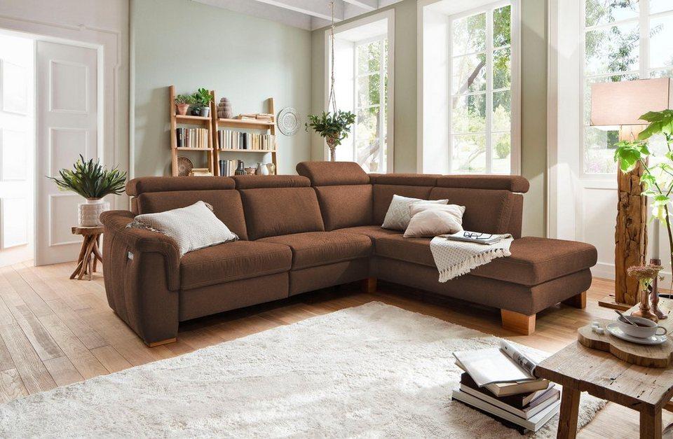 home affaire ecksofa konstanz wahlweise mit. Black Bedroom Furniture Sets. Home Design Ideas