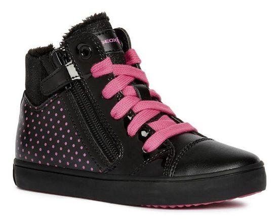 Geox Kids »Gisli Girl« Sneaker mit kuscheligem Warmfutter