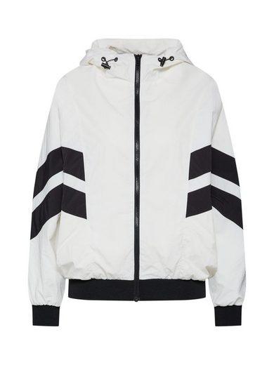 URBAN CLASSICS Winterjacke »Ladies Crinkle Batwing Jacket«