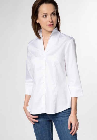 Eterna Hemdbluse »MODERN CLASSIC« Dreiviertelarm Bluse