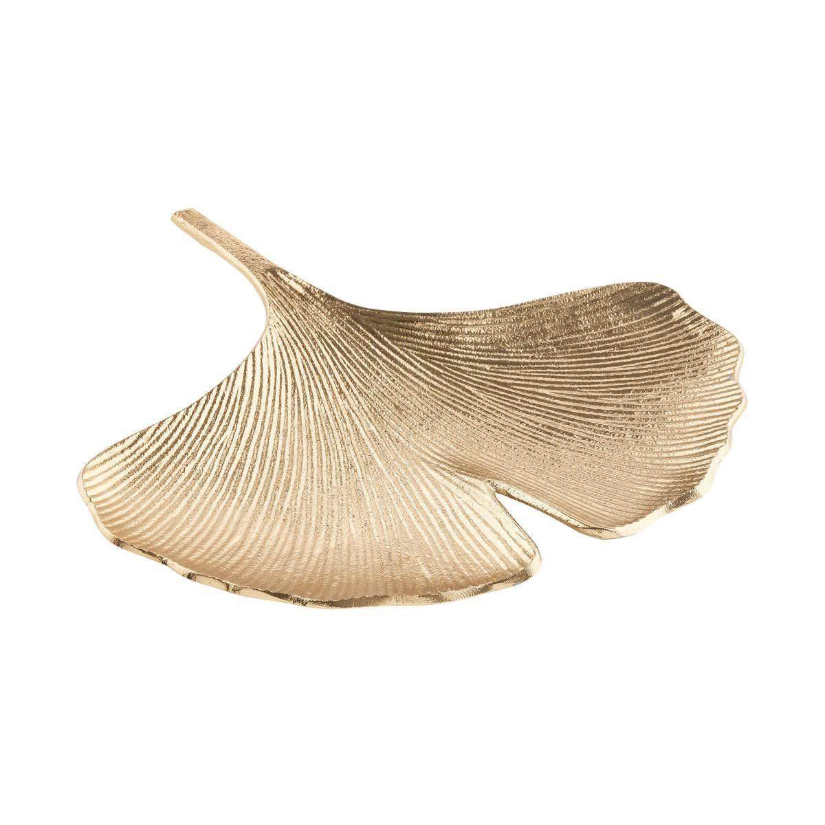 BUTLERS GOLDEN NATURE »Deko Schale Ginkgo 28 cm«