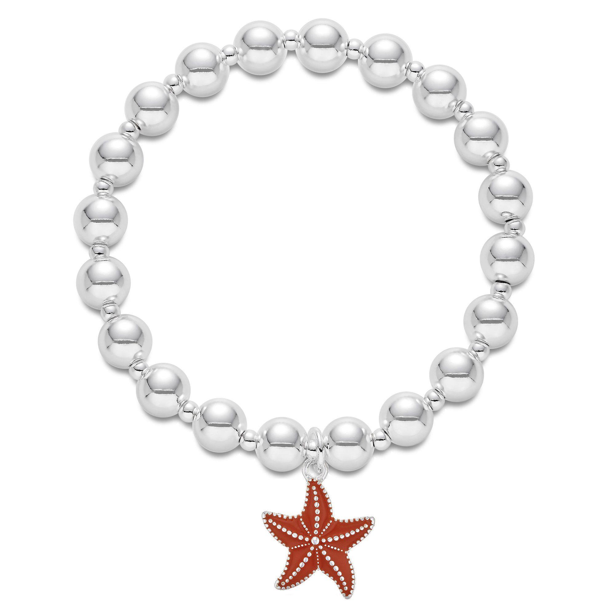 Stretch London Online Armband Silberfarben Kaufen Buckley »messing Seestern« F1TclKJ