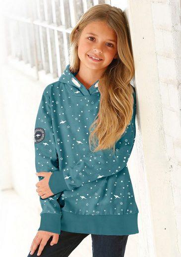 KangaROOS Kapuzensweatshirt Mit seitlichen Taschen