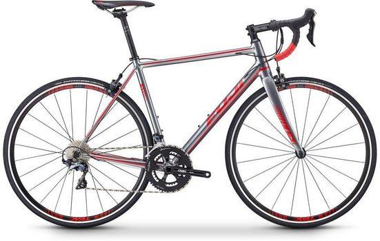 FUJI Bikes Rennrad »ROUBAIX 1.3«, 22 Gang Shimano 105 Schaltwerk, Kettenschaltung