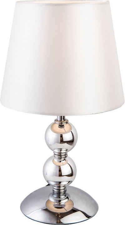 Nino Leuchten Tischleuchte »BEA«, chromfarbene Tischlampe
