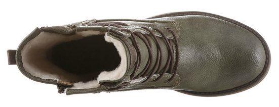 Mustang Shoes Winterboots mit kuscheliger Warmfutterinnenausstattung online kaufen