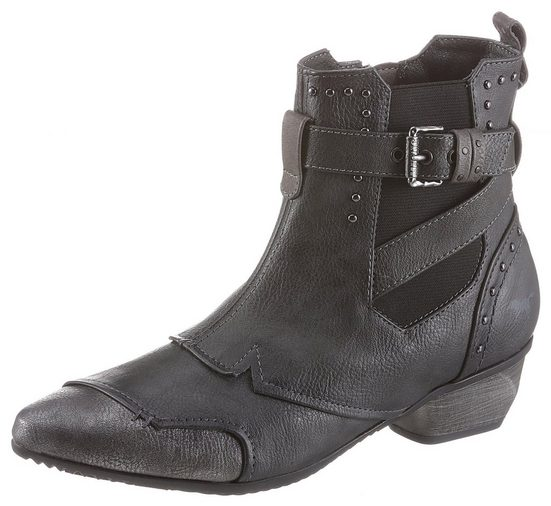 Mustang Shoes Chelseaboots in spitz zulaufender Form