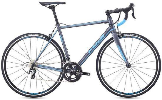 FUJI Bikes Rennrad »ROUBAIX 1.5«, 20 Gang Shimano Tiagra Schaltwerk, Kettenschaltung