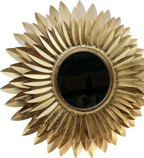 Home affaire Dekospiegel »Blumen gold«