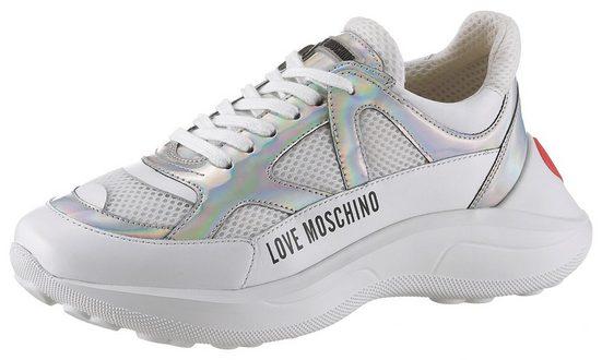 LOVE MOSCHINO Sneaker im extravaganten Design