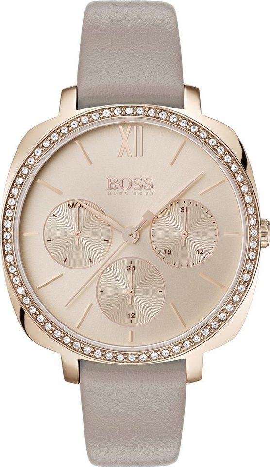Boss Multifunktionsuhr »SEDUCTION, 1502487« | Uhren > Multifunktionsuhren | Grau | Boss