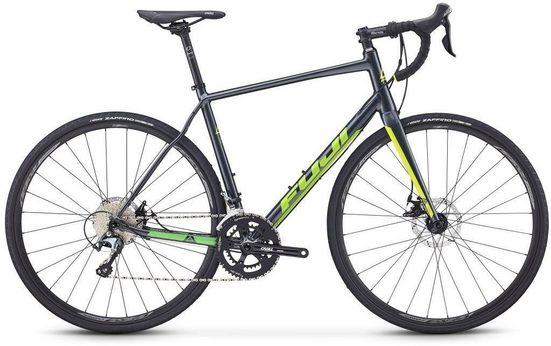 FUJI Bikes Rennrad »SPORTIF 1.5 DISC«, 20 Gang Shimano Tiagra Schaltwerk, Kettenschaltung