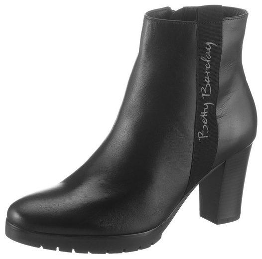 Betty Barclay Shoes Stiefelette mit dezentem Logo an der Seite