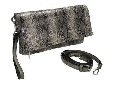 COLLEZIONE ALESSANDRO Clutch »Bea«, als Clutch, Umhängetasche und Schultertasche tragbar