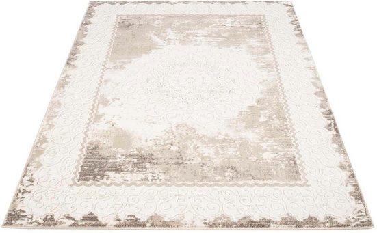 Teppich »Platin 8058«, Carpet City, rechteckig, Höhe 11 mm