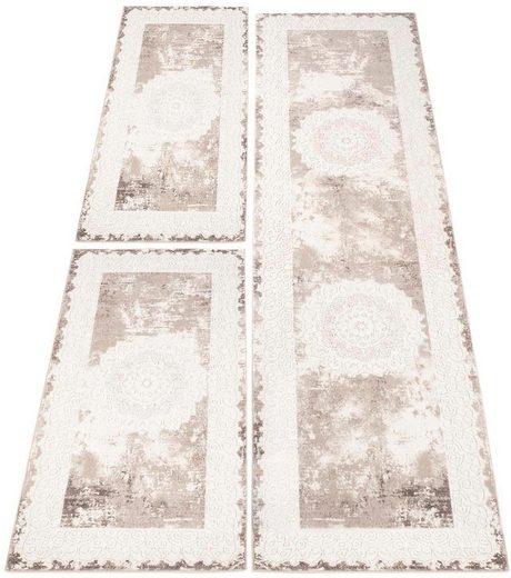 Bettumrandung »Platin 8058« Carpet City, höhe 11 mm, (3-tlg)