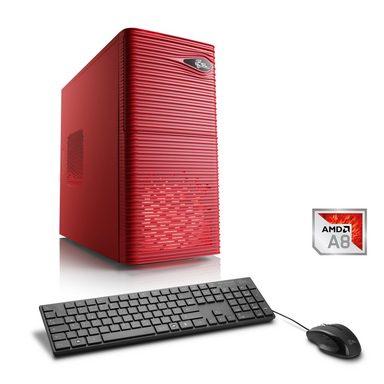 CSL Multimedia PC | AMD A8-9600 | Radeon R7 | 8 GB DDR4 RAM | SSD »Sprint T4881 Windows 10 Home«