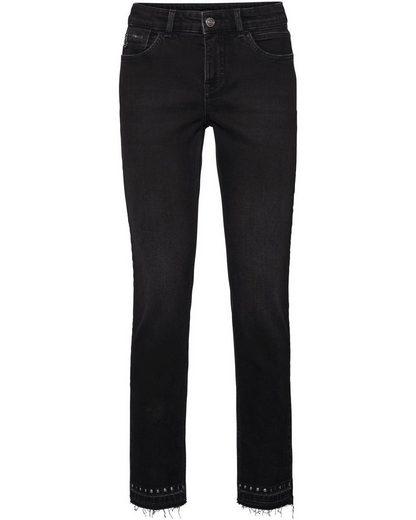 MAC Jeans 7/8 Slim Fringe