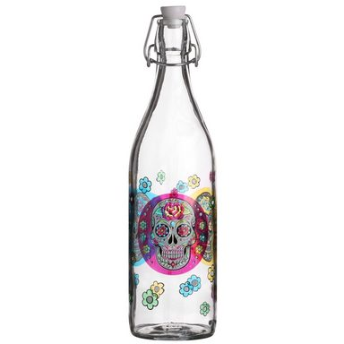 HTI-Living Flasche »Mexican Skull«