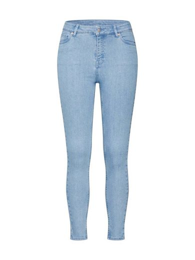 REVIEW Skinny-fit-Jeans »HW LIGHT BLUE D-JEANS«
