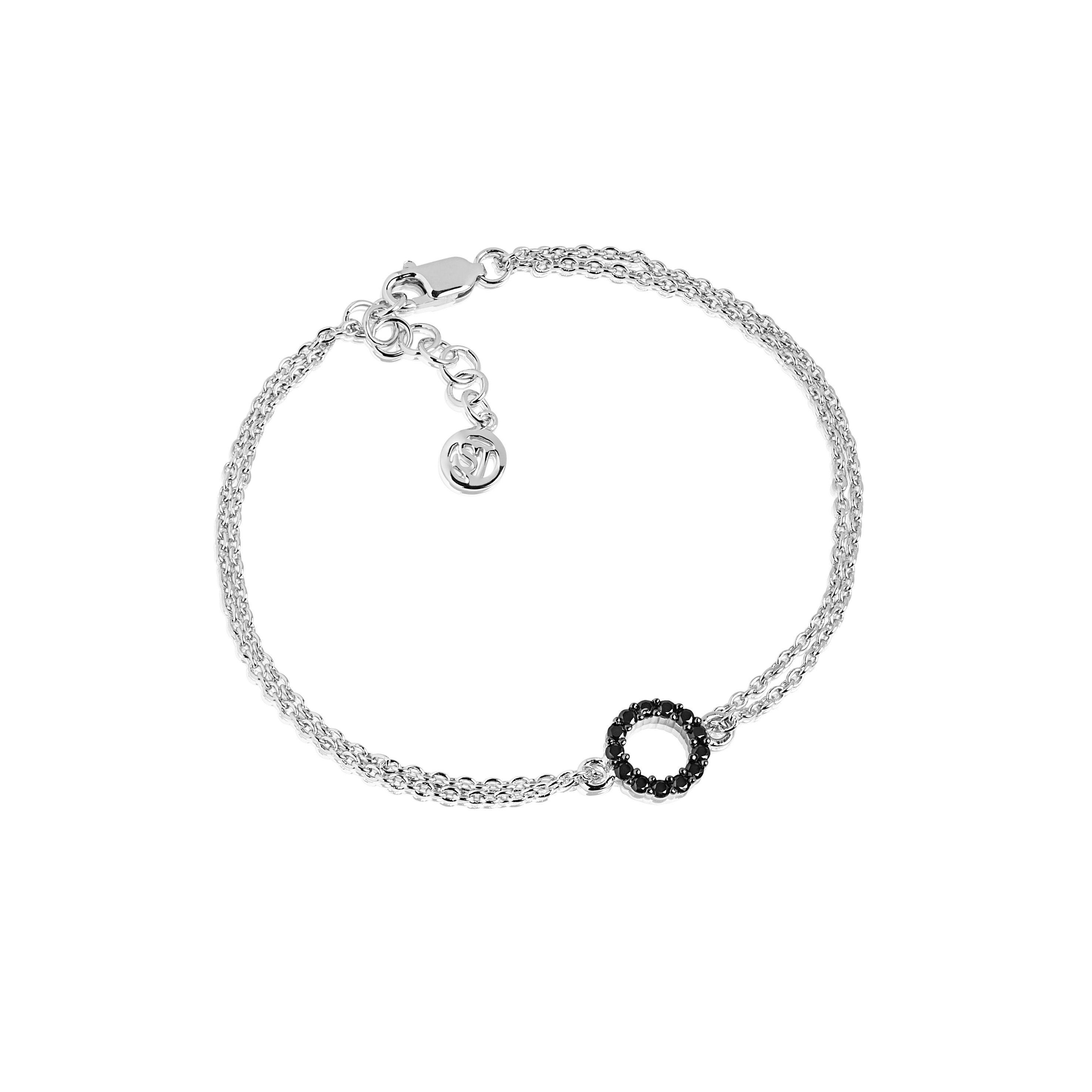 Sif Jakobs Jewellery Armband mit kontrastfarbenem Anhänger »BIELLA PICCOLO«