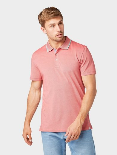 TOM TAILOR Poloshirt »Zweifarbiges Poloshirt«