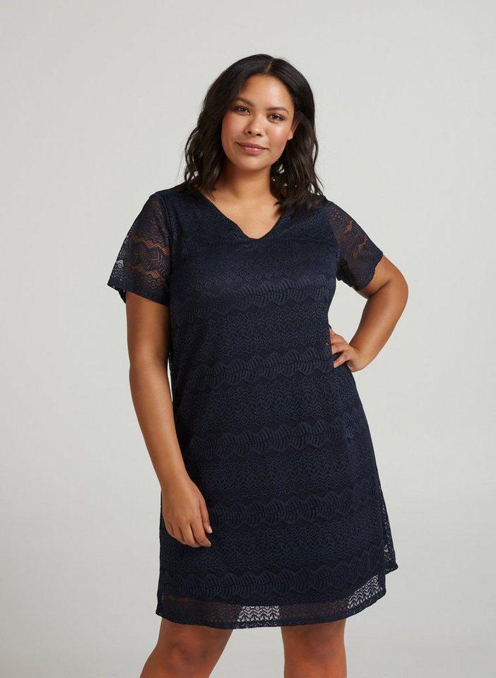 Geschäft Schatz als seltenes Gut Schuhe für billige Zizzi Spitzenkleid Damen Große Größen Spitzenkleid Knielang Spitze Elegant  Kleid online kaufen | OTTO