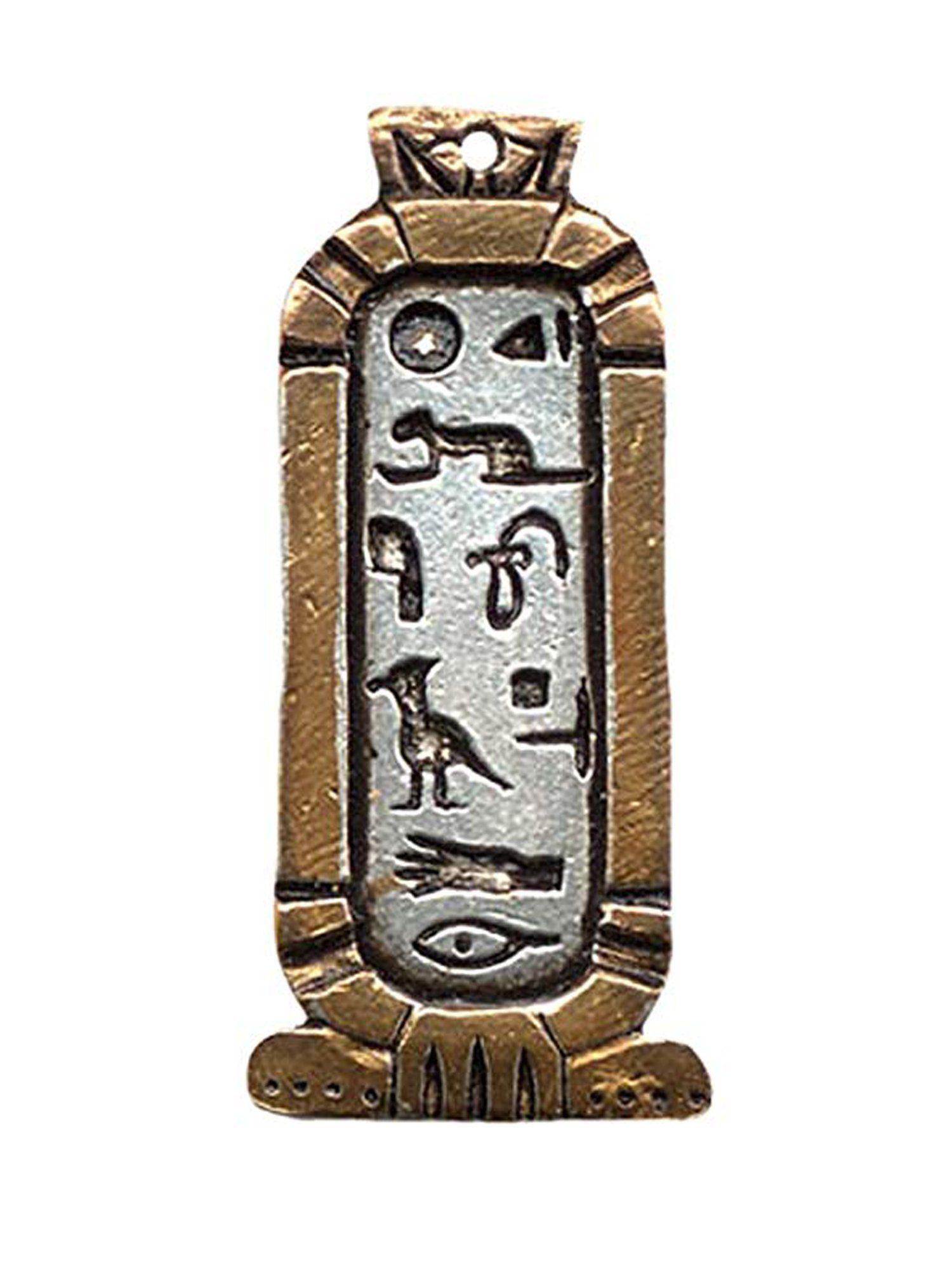 Jewels Of Atum Ra Anhänger Ägyptische Cleopatra Liebe Kartusche