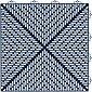 Set: Kunststofffliesen »Unique« mit Klick-Verbindung, 35 Stk. für 5 m², dunkelblau, Bild 1