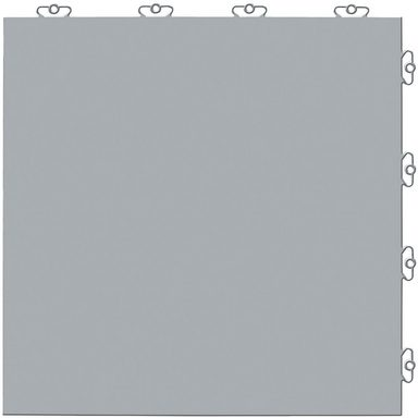 Kunststofffliesen-Set: »Elite grau« mit Klick-Verbindung