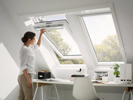 VELUX Dachfenster »GGU FK06«, Schwingfenster, BxH: 66x118 cm