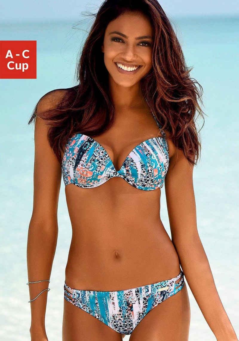 Sunseeker Push-Up-Bikini-Top »Gipsy«, mit modischem Print