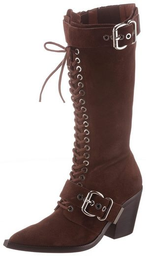 Jeffrey Campbell Stiefel in spitzer Form