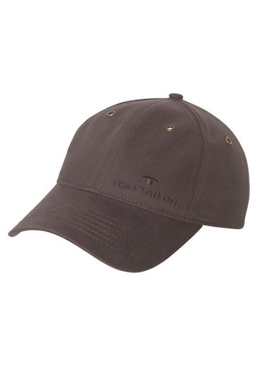 TOM TAILOR Baseball Cap mit Ton in Ton Logo