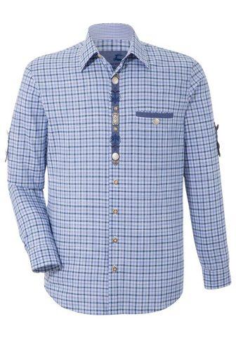 OS-TRACHTEN Tautinio stiliaus marškiniai su dekora...