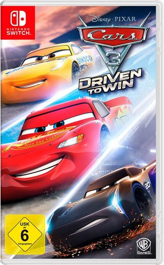 CARS 3: Driven to win Nintendo Switch, Software Pyramide