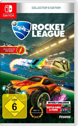 Rocket League - Collector's Edition Nintendo Switch, Software Pyramide