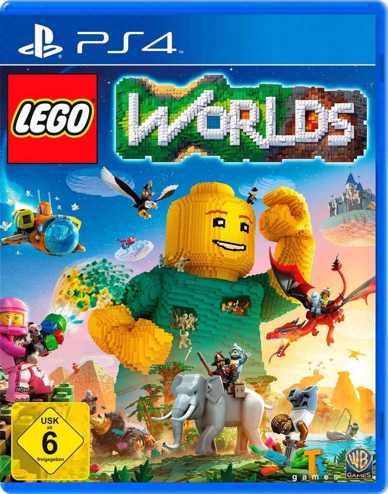 Lego Worlds PlayStation 4, Software Pyramide