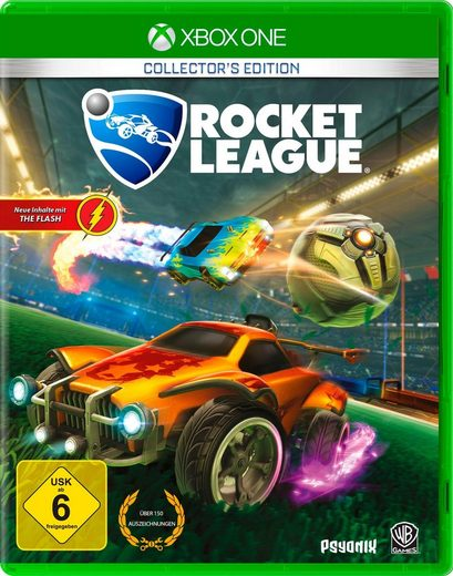 Rocket League Collector's Edition Xbox One, Software Pyramide