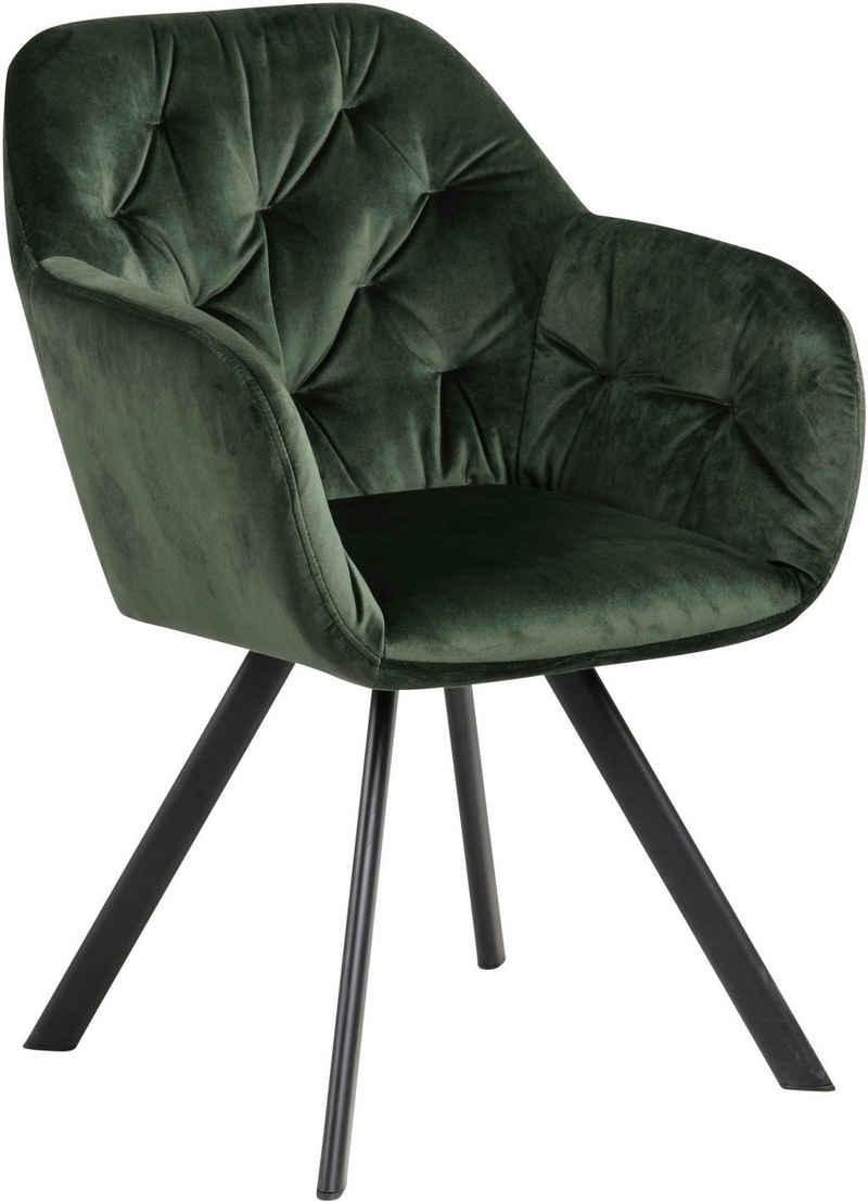 andas Drehstuhl »Lorelei« (Set, 1 Stück), in verschiedenen Bezugsqualitäten und Farbvarianten erhältlich, wahlweise mit und ohne Autorückführung auswählbar, Sitzhöhe 48 cm