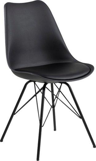 andas Esszimmerstuhl »Edel« 2er Set, in zwei verschiedenen Bezugsqualitäten und weiteren Farbvarianten, Sitzhöhe 49 cm
