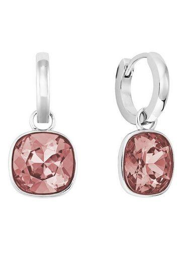 Joop! Paar Creolen »2024528« mit abnehmbaren Einhängern und Swarovski® Kristallen