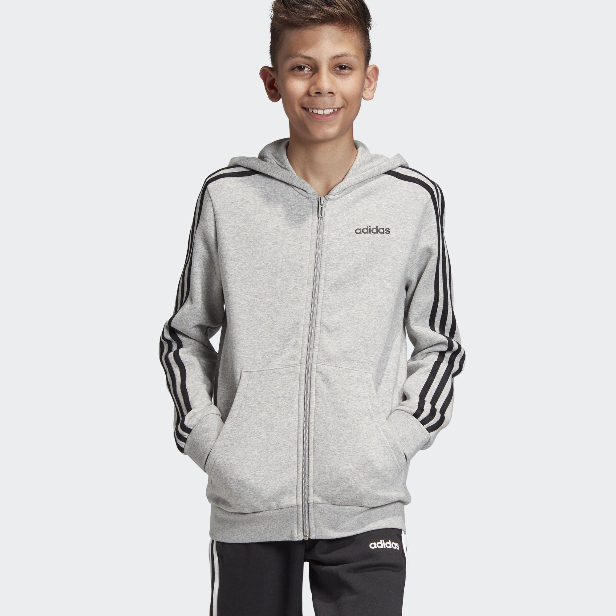 adidas Performance Sweatjacke »Essentials 3 Streifen Kapuzenjacke« Essentials online kaufen | OTTO