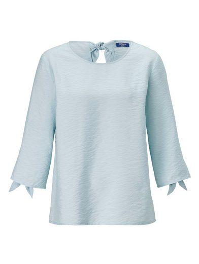 Conleys Blue Bluse mit Schleifendetail