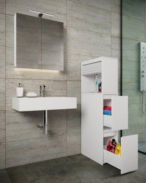 Badschränke - VCM Badmöbel Hochschrank Tasalo  - Onlineshop OTTO
